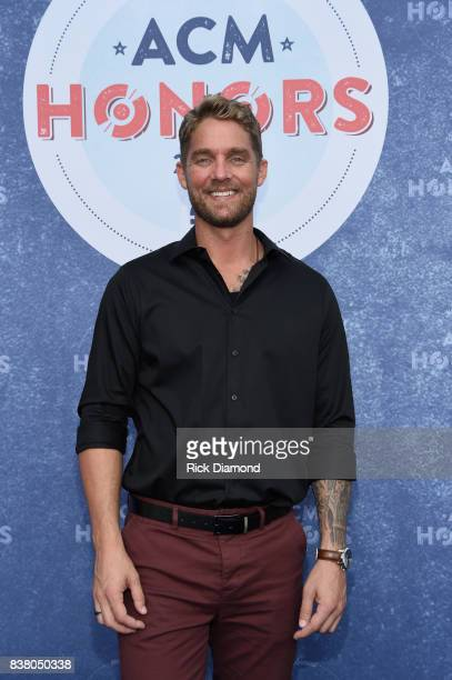 Singersongwriter Brett Young attends the 11th Annual ACM Honors at the Ryman Auditorium on August 23 2017 in Nashville Tennessee