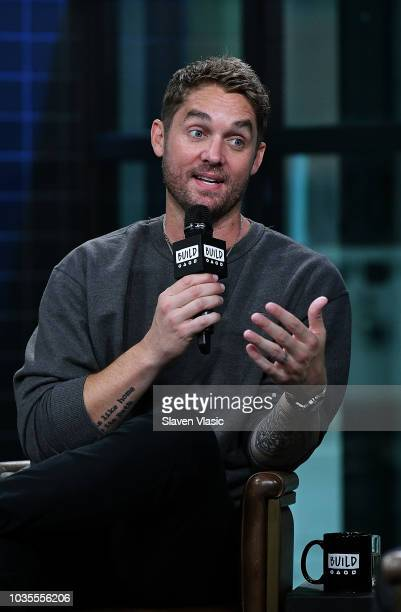 Singer/songwriter Brett Young visits Build Series to discuss his album 'Ticket to LA' at Build Studio on September 18 2018 in New York City