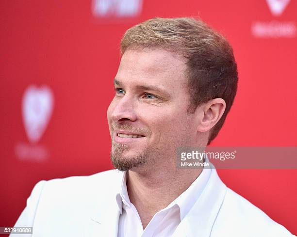 Singersongwriter Brian Littrell of The Backstreet Boys attends the 12th Annual MusiCares MAP Fund Benefit Concert Honoring Smokey Robinson at The...