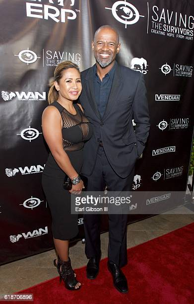 Singer-songwriter Brian McKnight attends the Fundraiser Event For Rock The Elephant at Hotel Bel-Air on October 27, 2016 in Los Angeles, California.