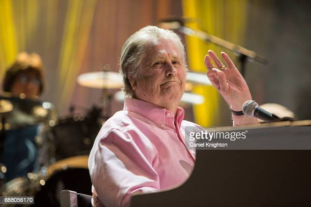 Singer/songwriter Brian Wilson performs at Brian Wilson presents Pet Sounds The Final Performances at San Diego Civic Theatre on May 24 2017 in San...