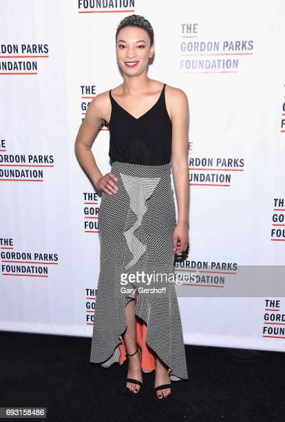 Singer/songwriter Brittni Jessie attends the 2017 Gordon Parks Foundation Awards gala at Cipriani 42nd Street on June 6 2017 in New York City