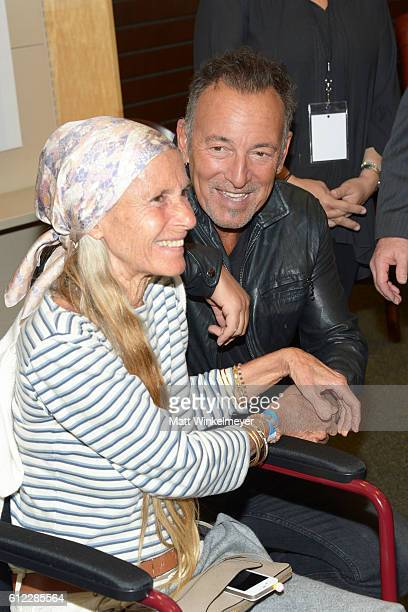 Singersongwriter Bruce Springsteen signs copies of his new book 'Born To Run' at Barnes Noble at The Grove on October 3 2016 in Los Angeles California