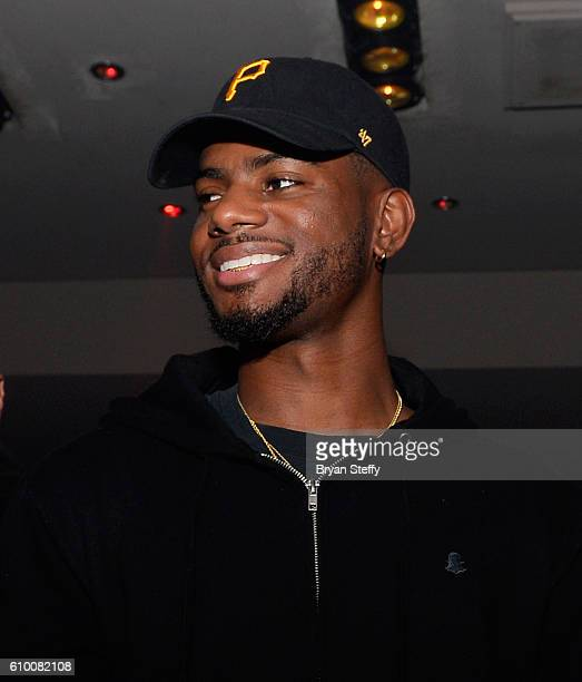 Singer/songwriter Bryson Tiller hosts a night out at 1 OAK Nightclub at The Mirage Hotel Casino on September 23 2016 in Las Vegas Nevada