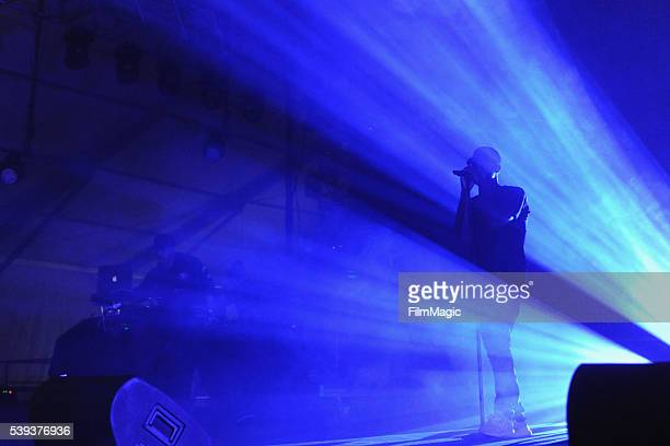 Singersongwriter Bryson Tiller performs onstage at That Tent during Day 2 of the 2016 Bonnaroo Arts And Music Festival on June 10 2016 in Manchester...