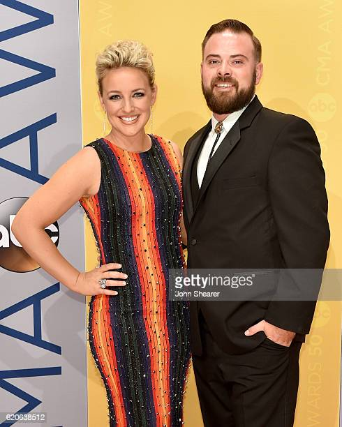 Singersongwriter Cam and Adam Weaver attend the 50th annual CMA Awards at the Bridgestone Arena on November 2 2016 in Nashville Tennessee