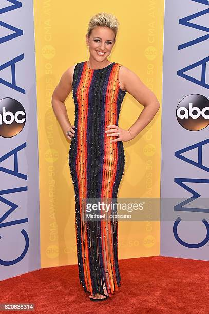Singersongwriter Cam attends the 50th annual CMA Awards at the Bridgestone Arena on November 2 2016 in Nashville Tennessee