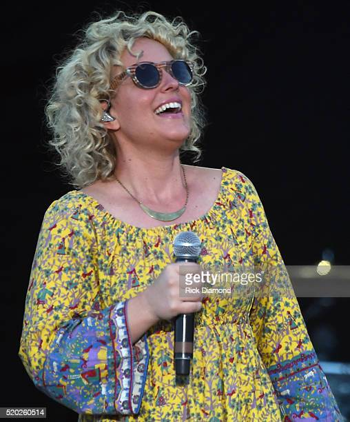 Singer/Songwriter CAM performs at County Thunder Music Festivals Arizona Day 3 on April 9 2016 in Florence Arizona