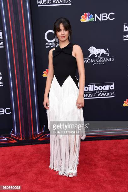 Singer/songwriter Camila Cabello attends the 2018 Billboard Music Awards 2018 at the MGM Grand Resort International on May 20 in Las Vegas Nevada