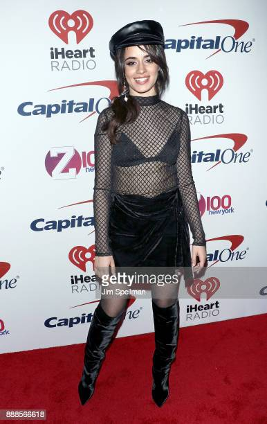 Singer/songwriter Camila Cabello attends the Z100's iHeartRadio Jingle Ball 2017 at Madison Square Garden on December 8 2017 in New York City