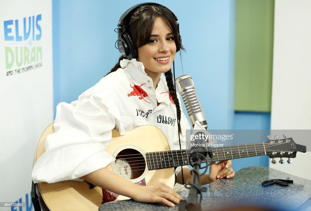 "Camila Cabello Visits ""The Elvis Duran Z100 Morning Show"""