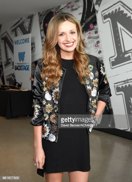 Singersongwriter Carly Pearce attends the 52nd Academy Of Country Music Awards Cumulus/Westwood One Radio Remotes at TMobile Arena on March 31 2017...
