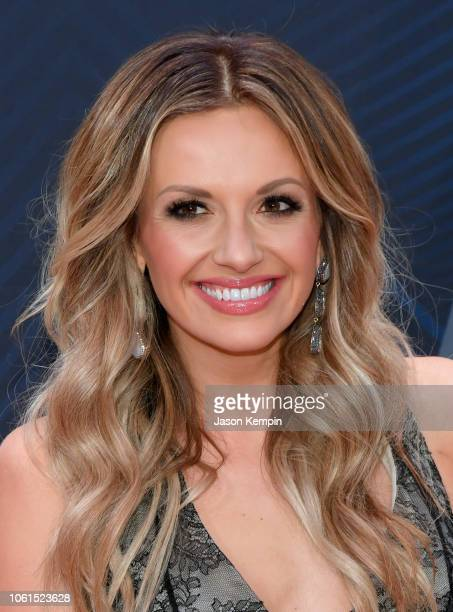 Singersongwriter Carly Pearce attends the 52nd annual CMA Awards at the Bridgestone Arena on November 14 2018 in Nashville Tennessee
