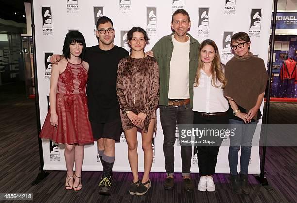 Singer/songwriter Carly Rae Jepsen, musician Jack Antonoff, actress Alia Shawkat, musician Andrew Dost, singer/songwriter Anna Waronker, and Rachel...