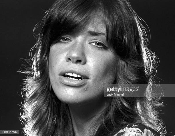 Singersongwriter Carly Simon photographed in June 1971