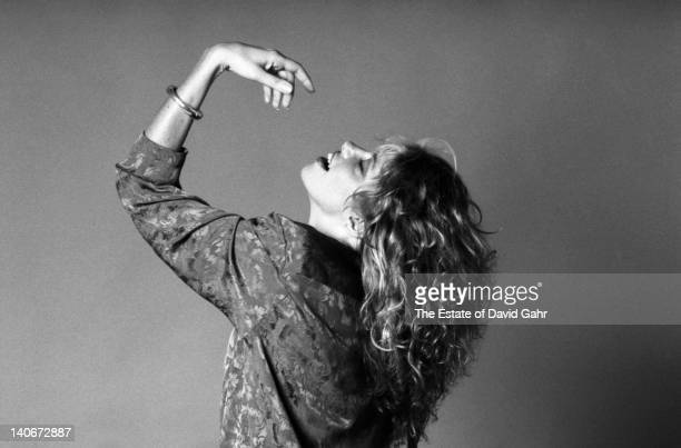 Singersongwriter Carly Simon poses for a portrait in July 1985 in New York City New York