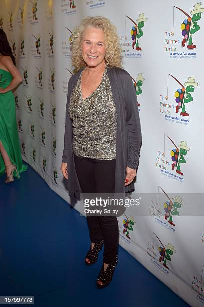 Singer/songwriter Carole King arrives at a celebration of Carole King and her music to benefit Paul Newman's The Painted Turtle Camp at the Dolby...