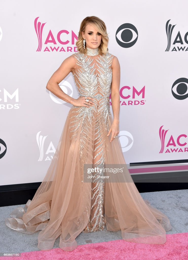 Singer-songwriter Carrie Underwood attends the 52nd Academy Of Country Music Awards at Toshiba Plaza on April 2, 2017 in Las Vegas, Nevada.