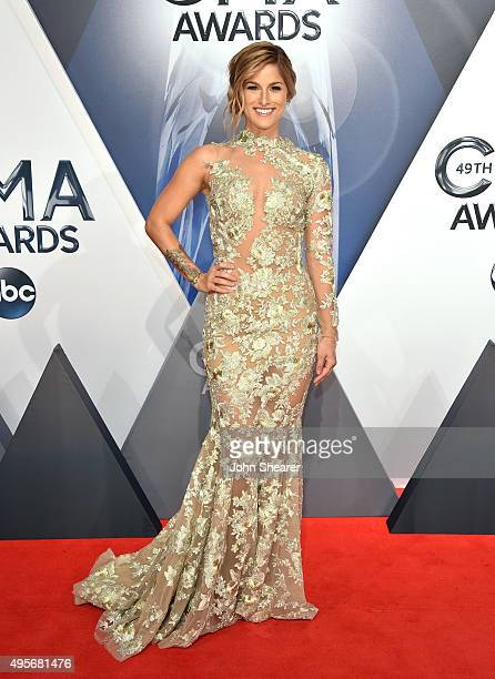 Singersongwriter Cassadee Pope attends the 49th annual CMA Awards at the Bridgestone Arena on November 4 2015 in Nashville Tennessee