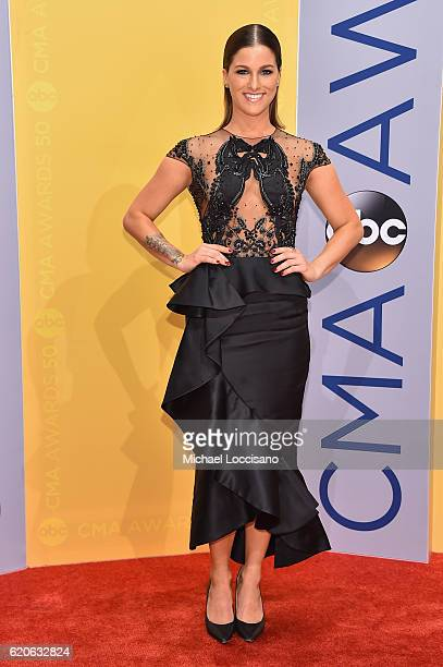 Singersongwriter Cassadee Pope attends the 50th annual CMA Awards at the Bridgestone Arena on November 2 2016 in Nashville Tennessee