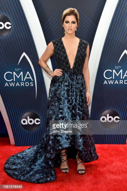 Singersongwriter Cassadee Pope attends the 52nd annual CMA Awards at the Bridgestone Arena on November 14 2018 in Nashville Tennessee