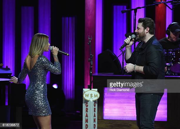 Singer/Songwriter Cassadee Pope joins Singer/Songwriter Chris Young at Jason Aldean's 11th Annual Event Benefitting Susan G Komen As Part of 'Opry...