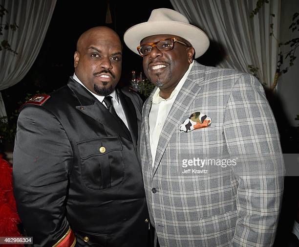 Singer/songwriter Cee Lo Green and actor Cedric the Entertainer attend the Primary Wave 9th Annual PreGrammy Party at RivaBella on February 7 2015 in...