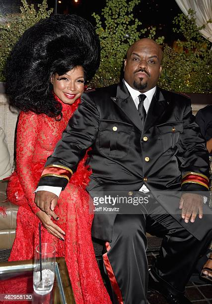Singer/songwriter Cee Lo Green and Shani James attend the Primary Wave 9th Annual PreGrammy Party at RivaBella on February 7 2015 in West Hollywood...