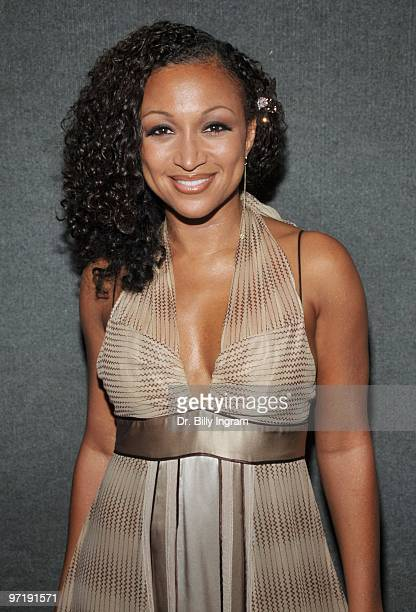 Singer/songwriter Chante Moore attends the Living Legends Award ceremony honoring Stevie Wonder and Nancy Wilson at California African American...