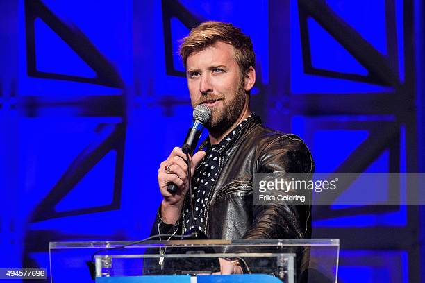 Singersongwriter Charles Kelley of the band Lady Antebellum talks about the importance of music education at the Gaylord Opryland Hotel on October 27...