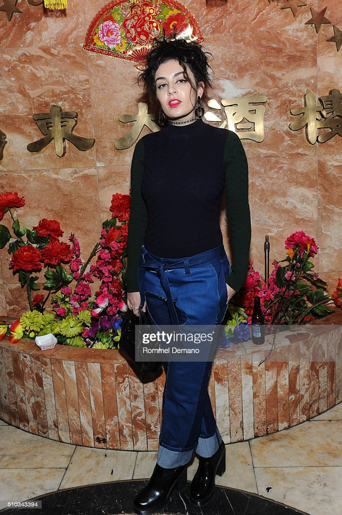Singer/Songwriter Charli XCX attends Opening Ceremony After Party at 88 Palace on February 14, 2016 in New York City.