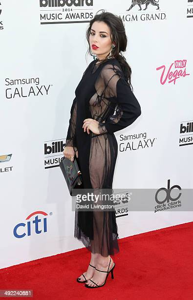 Singer/songwriter Charli XCX attends the 2014 Billboard Music Awards at the MGM Grand Garden Arena on May 18 2014 in Las Vegas Nevada