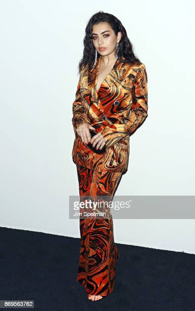 Singer/songwriter Charli XCX attends the 2017 Samsung Charity Gala at Skylight Clarkson Sq on November 2 2017 in New York City