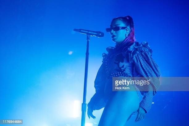 Singer-songwriter Charli XCX performs in concert at Emo's on September 24, 2019 in Austin, Texas.
