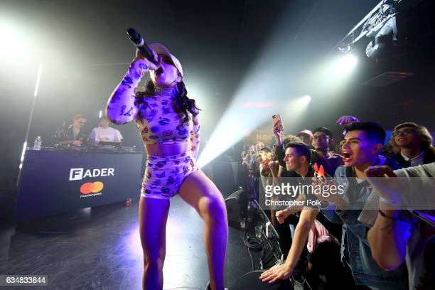 Singer/songwriter Charli XCX performs onstage with musical artist SOPHIE and singer A G Cook at a mustsee lineup presented by The FADER and...