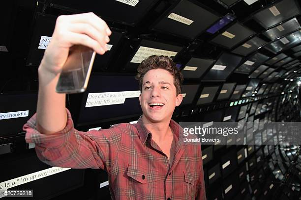 Singersongwriter Charlie Puth attends the Samsung 2016 SUHD TV Spring Launch Event held at Samsung 837 in New York on April 12 2016 in New York City