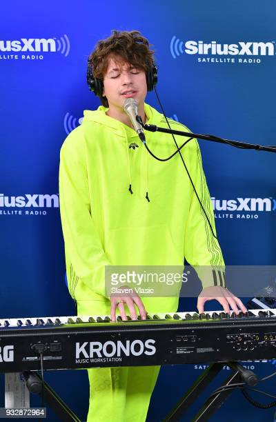 Singer/songwriter Charlie Puth performs at Hits 1 at SiriusXM Studios on March 16 2018 in New York City