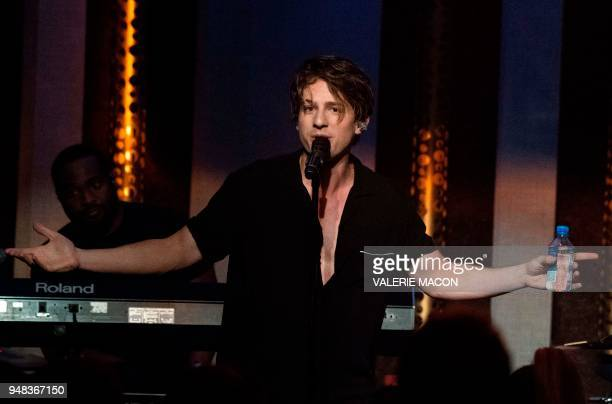 Singer/songwriter Charlie Puth performs at the The Peppermint Club on April 17 2018 in West Hollywood California Charlie Puth's silky falsetto made...