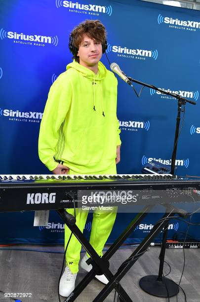 Singer/songwriter Charlie Puth visits Hits 1 at SiriusXM Studios on March 16 2018 in New York City