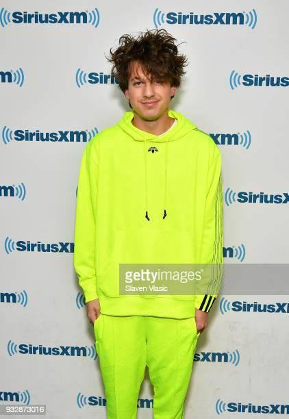 Singer/songwriter Charlie Puth visits SiriusXM Studios on March 16 2018 in New York City