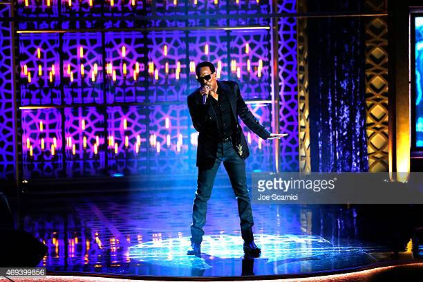 Singer/songwriter Charlie Wilson performs onstage during the 2015 TV Land Awards at Saban Theatre on April 11 2015 in Beverly Hills California