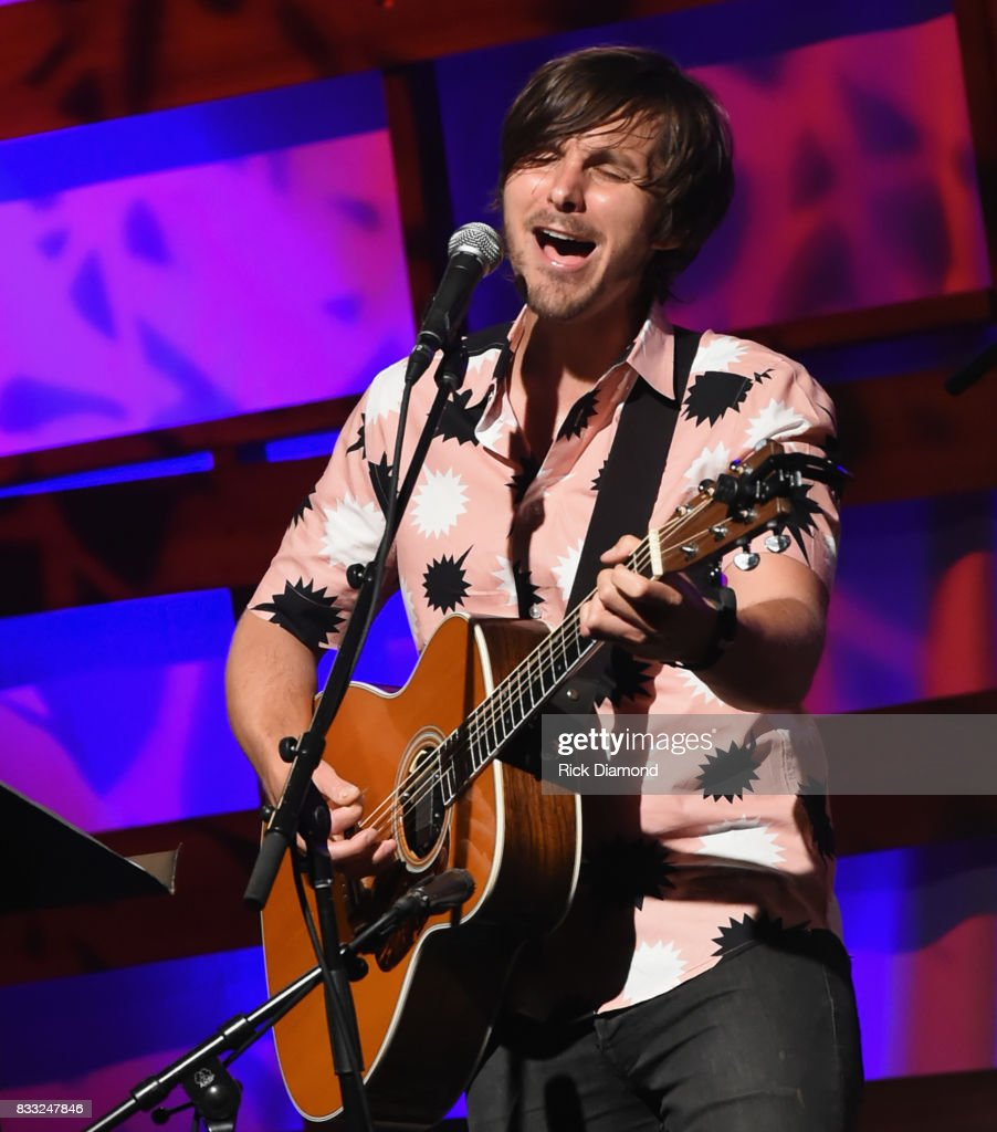 Singer/Songwriter Charlie Worsham performs during Music City Roots at The Factory At Franklin on August 16, 2017 in Franklin, Tennessee.