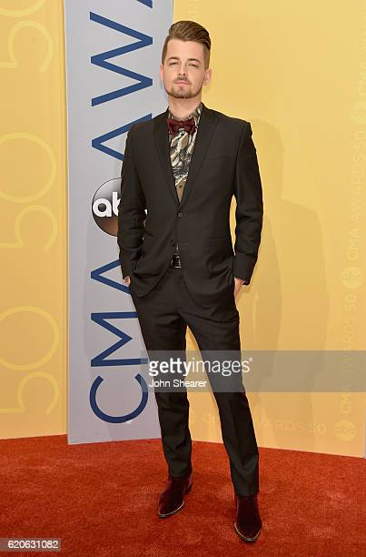 Singersongwriter Chase Bryant attends the 50th annual CMA Awards at the Bridgestone Arena on November 2 2016 in Nashville Tennessee