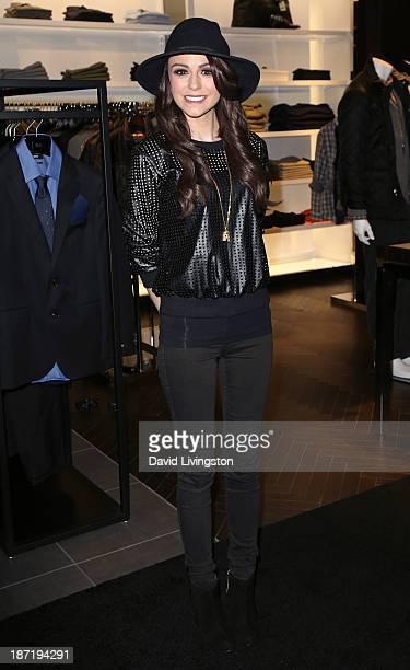 Singer/songwriter Cher Lloyd attends Bloomingdale's Glendale opening gala celebration hosted by Bloomingdale's Glendale with VH1 Save the Music...