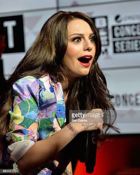 Singersongwriter Cher Lloyd performs at MLB Fan Cave on May 29 2014 in New York City