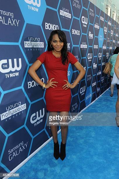 Singersongwriter China Anne McClain attends the 2014 Young Hollywood Awards brought to you by Samsung Galaxy at The Wiltern on July 27 2014 in Los...
