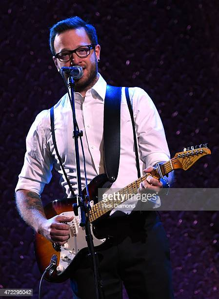 Singer/Songwriter Chris August performs during The 2nd Annual GMA Honors at Allen Arena, Lipscomb University on May 5, 2015 in Nashville, Tennessee.