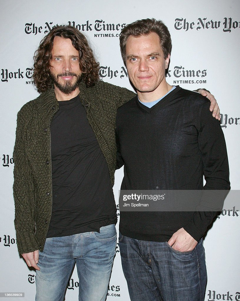 2012 NY Times Arts & Leisure Weekend - TimesTalks With Michael Shannon & Chris Cornell