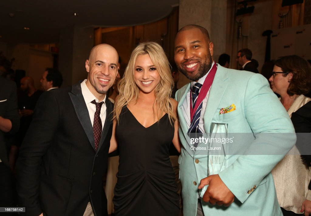 Singer/Songwriter Chris Daughtry, singer BC Jean and songwriter Claude Kelly attend the 2013 BMI Pop Awards at the Beverly Wilshire Four Seasons Hotel on May 14, 2013 in Beverly Hills, California.