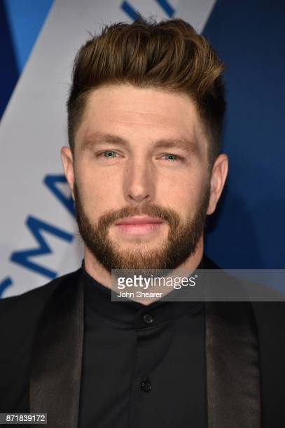 Singersongwriter Chris Lane attends the 51st annual CMA Awards at the Bridgestone Arena on November 8 2017 in Nashville Tennessee